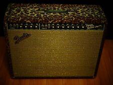 Vintage Custom 1965 Fender Twin Reverb Amp - Smokin Joe Kubek's Amp + Road Case