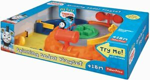 FISHER PRICE THOMAS & FRIENDS SPINNING SODOR PLAYSET. 18+ MONTHS