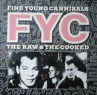 FINE YOUNG CANNIBALS - THE RAW & THE COOKED A - 1 ORIGINAL VINYL ALBUM POP NM/EX