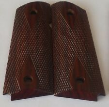 1911 COLT GRIPS NO AMBI 4 COMPACT OFFICER  & full cut DD CHECKING COCOBOLO S-XXX
