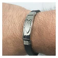Stainless Steel Men's Religious Lord's Prayer Bracelet