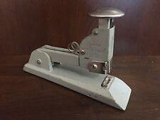 Vintage Swingline No.13 Heavy Duty Stapler Gray USA Art Deco Steampunk Office