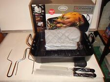 Denmark Tools For Cook By Tabletops Turkey Roaster With Bonus Parts NIB