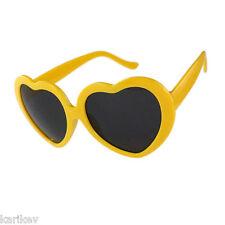 Retro Lolita Love Heart Shaped Sunglasses Large Fashion Fancy Dress Hen Party