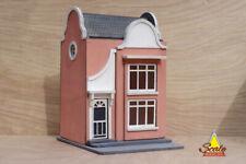 1:48th Quarter Scale Dutch House Dollhouse Miniature Laser Cut KIT Model