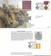 1990 VICTORIA CROSS STAMP 85th ANN SIGNED ERIC WILSON VC BFPO COVER SHS