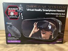 DREAM VISION VIRTUAL REALITY HEADSET FOR iPhone & ANDROID W/ Gamepad And Game!