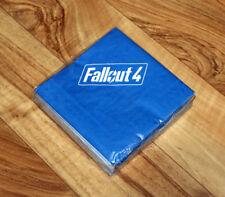 Fallout 4 Bethesda Promo Pack of Napkins Gamescom 2015 New Vegas 3 2 76 Rare