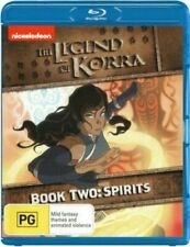 The Legend Of Korra : Book Two - Spirits  (BLU RAY) Region B  -sealed