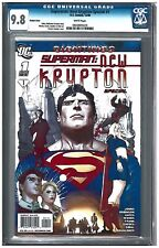 SUPERMAN: NEW KRYPTON SPECIAL #1 CGC 9.8 (12/08) DC variant white pages
