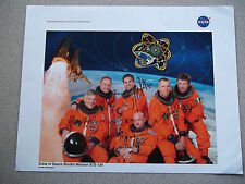 STS-134 autographed 8X10 NASA Crew Photo - Some Tough signers