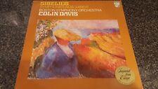 Sibelius Symphonies 3 & 6 Colin Davis Boston Symphony Orchestra LP 9500 142