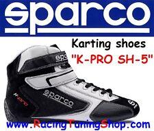 SCARPE KART SPARCO K-PRO SH-5 SIZE EUR 46 - KARTING SHOES BLACK SPARCO KARTING