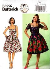 Butterick Sewing Pattern B6556 6556 Misses Dress Patterns Gertie Size 14-22 NEW