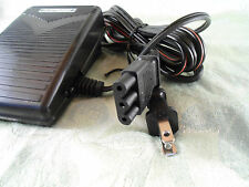 Foot Pedal +Cord JANOME JD1106,108,204D,303,3125,340,344,405,415,419S,521,MC4023