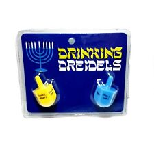 Drinking Dreidels Hanukkah Dice Adult Festival Novelty Party Game Gift New