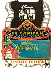 Disney Pin DSF DSSH El Capitan Marquee Little Mermaid Ariel LE300 Sebastian