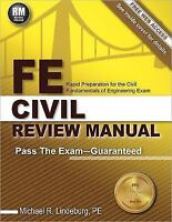 FE Civil Review Manual : Rapid Preparation for the Fundamentals of...