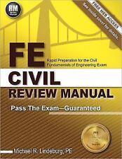 FE Civil Review Manual Rapid Preparation for Fundamentals of Engineering Exam