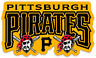 Pittsburgh Pirates Logo Type w/ Dual Pirates MLB Baseball Die-Cut MAGNET