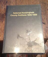 Selected ROCKINGHAM COUNTY Petitions 1800-1850 VIRGINIA HISTORY Free US Shipping