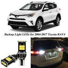 2x Error Free White 921 LED Backup Reverse Light Bulb for Toyota RAV4 2004-2017