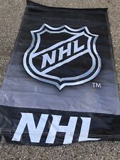 NHL Logo Banner Double Sided 4x7