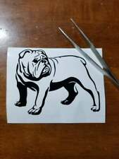 Old English Bulldog Bully Dog Decal Any Size Any Colors Available Car Laptop