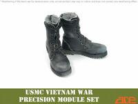 1:6 1/6 Scale ace 13038 Vietnam War USMC Loose Parts Combat Boots DMS  ship now