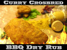 250g Curry Crossbred BBQ Rub Smoker Grill Gewürz  Magic Dust Barbecue Chicken