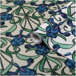 d-c-fix DC Fix 346-0616 Decorative Self-Adhesive Window Film, Minster/Iris