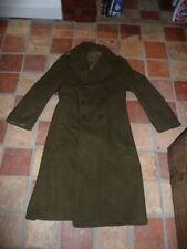 capote  manteau  US 1942 reprise armee francaise 1944 indo capitaine LEGAIT