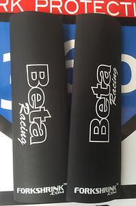 BETA RR 2T 4T 125 250 300 350 390 430 490 - Beta Racing in WHITE- FORKSHRINK 360