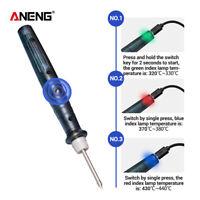 Portable USB Soldering Iron Pen Adjustable Temperature Electric Welding Tools