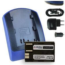 Chargeur+Batterie (USB) BP-511 pour Canon MVX150i, MVXli, PV130, ZR10, ZR20