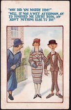 Hutson Brothers (H.B. Ltd) Postcard - Comic Saucy - Postcard No. 3054