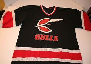 San Diego Gulls Jersey Size Large VHTF Rare Vintage San Diego Gulls ECHL Jersey