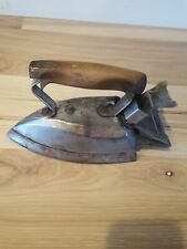 Antique White Cross Clothes Iron National Stamping & Elec Wks