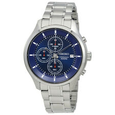 Seiko SKS549 Mens Saphire Blue Chronograph Stainless Watch