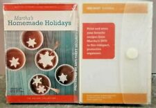 Martha's Homemade Holidays DVD Printable Recipes How To Cooking Guide Sealed NIB