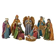Christmas Nativity Set 8 Piece Traditional Design Festive Ornament