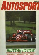 AUTOSPORT Jan 1st 1987 * Europeo RALLY STAGIONE REVIEW *