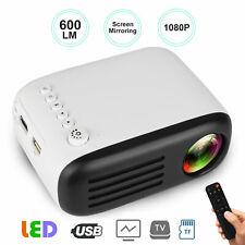 YG200 Portable Mini LED Projector Home Cinema Theater 1080P FHD 3D HDMI AV USB
