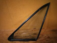 Mazda MX-5 Miata Left Side Door Quarter Vent Window Glass & Rubber Seal 90-05