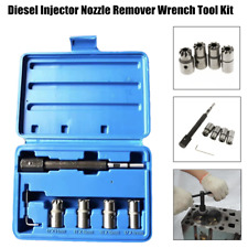 5PCx Diesel Injector Nozzle Remover Wrench Tool Kit Fit For Ford BMW Benz Ranult