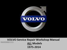 Volvo Digital Software Service Repair Workshop Manual 1975-2014