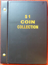 """VST AUSTRALIAN $1 COIN ALBUM for COLLECTION 1984 to 2016 MINTAGES PRINTED """"NEW"""""""