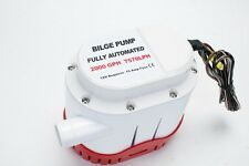 Excellent Automatic Boat Bilge Water Pump 12v 2000gph Built-in Float Switch