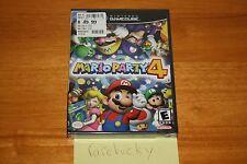 Mario Party 4 (Nintendo Gamecube) - NEW SEALED Y-FOLD, MINT, RARE!