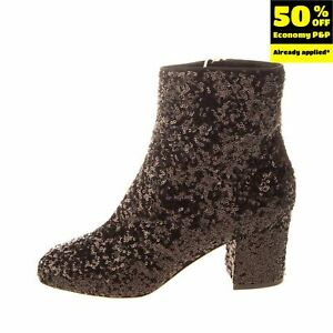 LEFT SHOE ONLY DOLCE & GABBANA Ankle Boot EU 38 UK 5 US 8 Made in Italy